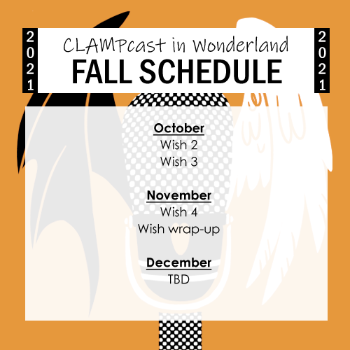 Wish through October and November, but December is still TBD.